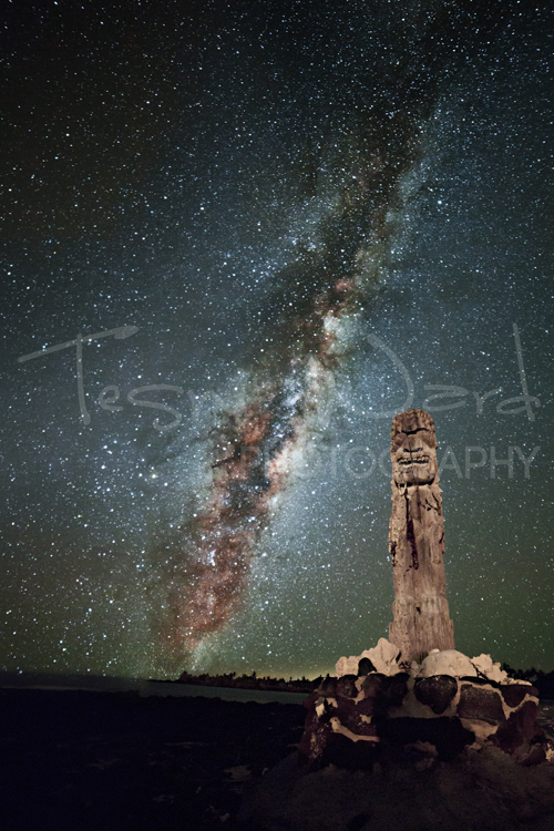 Hawaii Milky Way Galaxy Night Sky
