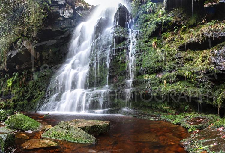 Middle Black Clough Peak District National Park