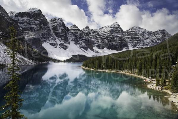 Banff National Park Alberta Canada Lake Morraine Louise