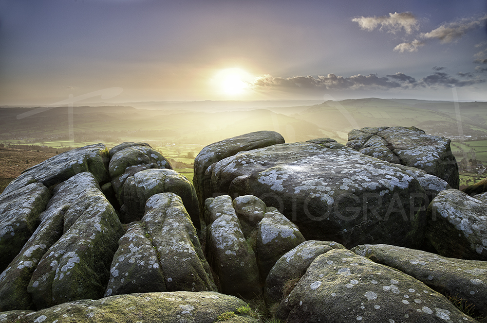 Curbar Edge Peak District Photography