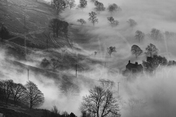 Mist Mam Tor Home Peak District Photography