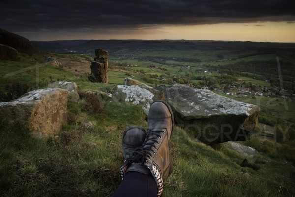 Curbar Edge Peak District Photography