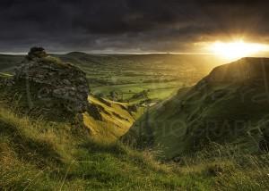 Winnats Pass Sunrise Peak District Photography Landscape