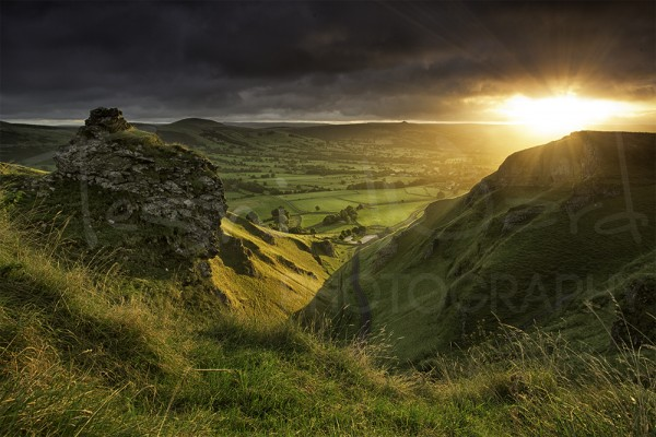 Winnats Pass Sunrise Peak District Photography Landscape